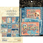 Graphic 45 - Sun Kissed Collection - Ephemera Cards