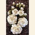 Graphic 45 - Staples Collection - Rose Bouquet - Ivory