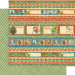 Graphic 45 - Christmas Magic Collection - 12 x 12 Double Sided Paper - Gifting Gala