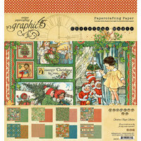 Graphic 45 - Christmas Magic Collection - 8 x 8 Paper Pad