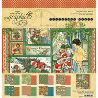 Graphic 45 - Christmas Magic Collection - 12 x 12 Collection Pack