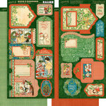 Graphic 45 - Christmas Magic Collection - Tags and Pockets