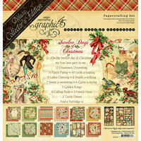 Graphic 45 - 12 Days of Christmas Collection - Deluxe Collector's Edition - 12 x 12 Papercrafting Kit
