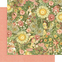 Graphic 45 - Garden Goddess Collection - 12 x 12 Double Sided Paper - Thoughtfully Planted