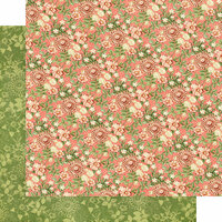 Graphic 45 - Garden Goddess Collection - 12 x 12 Double Sided Paper - Fields of Flowers