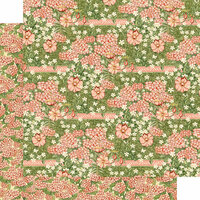 Graphic 45 - Garden Goddess Collection - 12 x 12 Double Sided Paper - Happiness Blossoms
