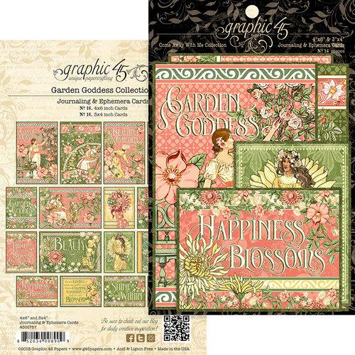 Graphic 45 - Garden Goddess Collection - Ephemera