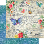 Graphic 45 - Flutter Collection - 12 x 12 Double Sided Paper - Flutter
