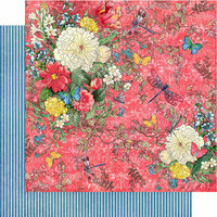 Graphic 45 - Flutter Collection - 12 x 12 Double Sided Paper - Dazzling