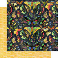 Graphic 45 - Flutter Collection - 12 x 12 Double Sided Paper - Vivacious