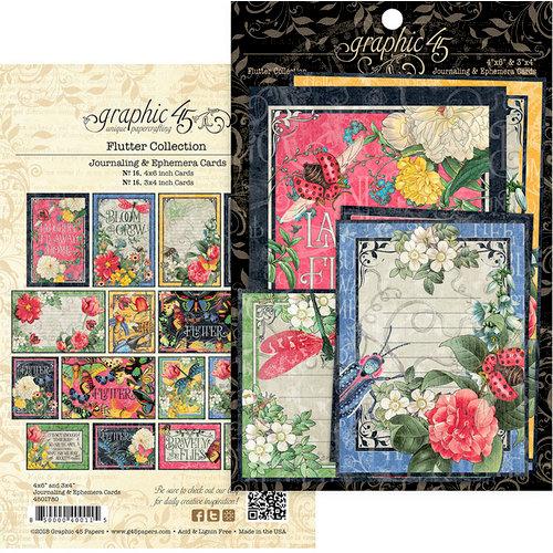 Graphic 45 - Flutter Collection - Ephemera