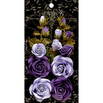 Graphic 45 - Rose Bouquet Collection - Floral Embellishments - French Lilac and Purple Royalty