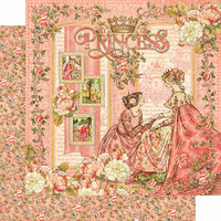 Graphic 45 - Princess Collection - 12 x 12 Double Sided Paper - Princess