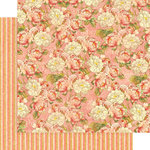 Graphic 45 - Princess Collection - 12 x 12 Double Sided Paper - Roses for Royalty