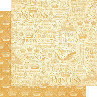 Graphic 45 - Princess Collection - 12 x 12 Double Sided Paper - If the Crown Fits
