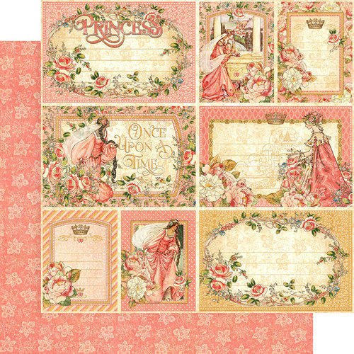Graphic 45 - Princess Collection - 12 x 12 Double Sided Paper - Your Highness