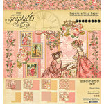 Graphic 45 - Princess Collection - 8 x 8 Paper Pad