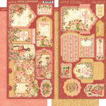 Graphic 45 - Princess Collection - Tags and Pockets