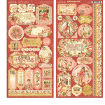 Graphic 45 - Princess Collection - Cardstock Stickers