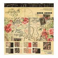 Graphic 45 - Love Notes Collection - 12 x 12 Collection Pack