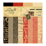 Graphic 45 - Love Notes Collection - 12 x 12 Patterns and Solids Paper Pad
