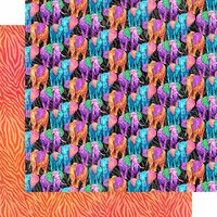 Graphic 45 - Kaleidoscope Collection - 12 x 12 Double Sided Paper - Dare to be Different