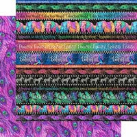Graphic 45 - Kaleidoscope Collection - 12 x 12 Double Sided Paper - Rainbow of Color