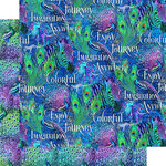 Graphic 45 - Kaleidoscope Collection - 12 x 12 Double Sided Paper - Joy in the Journey