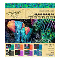 Graphic 45 - Kaleidoscope Collection - 8 x 8 Paper Pad