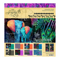 Graphic 45 - Kaleidoscope Collection - 12 x 12 Collection Pack