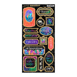 Graphic 45 - Kaleidoscope Collection - Die Cut Chipboard Tags