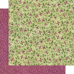 Graphic 45 - Bloom Collection - 12 x 12 Double Sided Paper - Dainty Blossoms