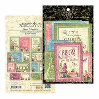 Graphic 45 - Bloom Collection - Ephemera Cards