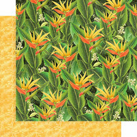 Graphic 45 - Lost In Paradise Collection - 12 x 12 Double Sided Paper - Utopian Fields