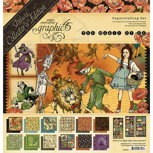 Graphic 45 - Magic of Oz Collection - Deluxe Collector