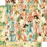 Graphic 45 - Christmas - Joy to the World Collection - 12 x 12 Double Sided Paper - Heavenly Choir