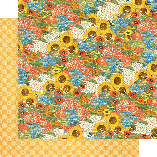 Graphic 45 - Dreamland Collection - 12 x 12 Double Sided Paper - Blossom Bright