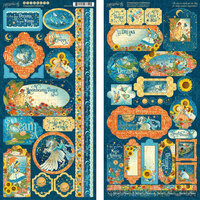 Graphic 45 - Dreamland Collection - 12 x 12 Cardstock Stickers