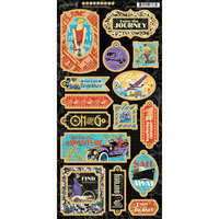 Graphic 45 - Life's A Journey Collection - Chipboard