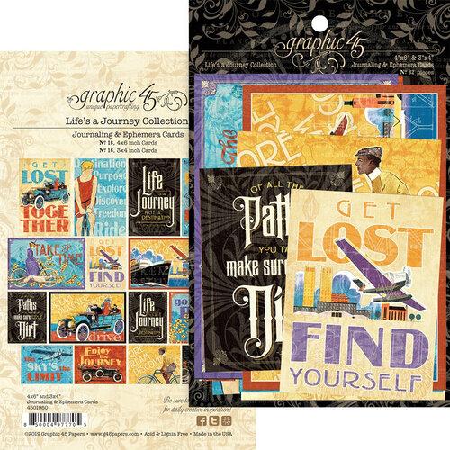 Graphic 45 - Life's A Journey Collection - Ephemera