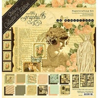 Graphic 45 - Le Romantique Collection - Deluxe Collectors Edition - 12 x 12 Papercrafting Kit