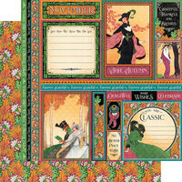 Graphic 45 - Fashion Forward Collection - 12 x 12 Double Sided Paper - November