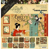 Graphic 45 - Bird Song Collection - 12 x 12 Deluxe Collector's Edition