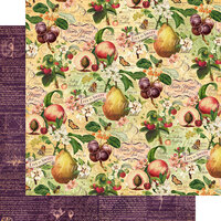Graphic 45 - Fruit and Flora Collection - 12 x 12 Double Sided Paper - Life is Sweet