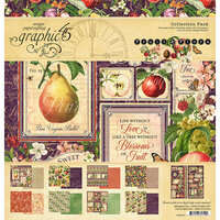 Graphic 45 - Fruit and Flora Collection - 12 x 12 Collection Pack