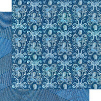 Graphic 45 - Ocean Blue Collection - 12 x 12 Double Sided Paper - Kauai