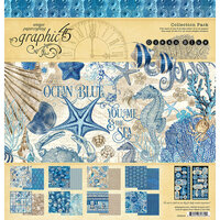 Graphic 45 - Ocean Blue Collection - 12 x 12 Collection Pack