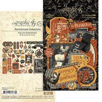 Graphic 45 - Farmhouse Collection - Die Cut Assortment