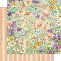 Graphic 45 - Fairie Wings Collection - 12 x 12 Double Sided Paper - Magic Meadows