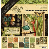 Graphic 45 - Nature Notebook Collection - 12 x 12 Deluxe Collector's Edition